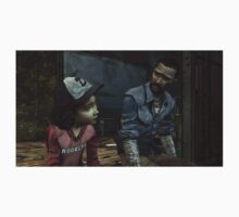 The Walking Dead-Clementine and Lee T-Shirt
