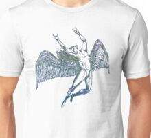 ICARUS THROWS THE HORNS - choppy seas NEW DESIGN Unisex T-Shirt