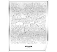 London Minimalist Map Poster
