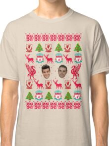 Liverpool FC 8-bit Holiday Sweater Classic T-Shirt
