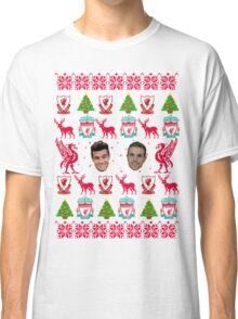 Liverpool FC 8-bit Holiday Sweater Classic T-Shirt