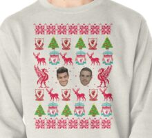 Liverpool FC 8-bit Holiday Sweater Pullover