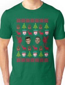 Liverpool FC 8-bit Holiday Sweater Unisex T-Shirt