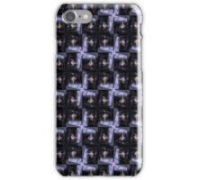 rosebud in the snow 3, tinted, pattern iPhone Case/Skin