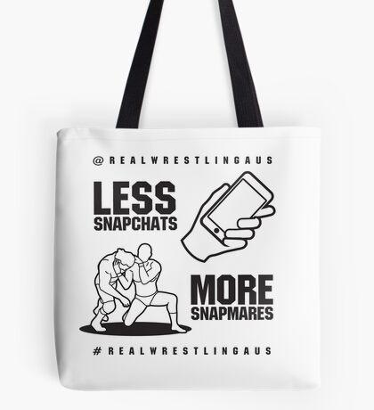 Less Snapchats, More Snapmares Tote Bag