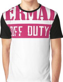 Mermaid Off Duty Graphic T-Shirt
