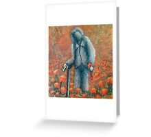 Villers Bretonneux by 'Donna Williams  Greeting Card