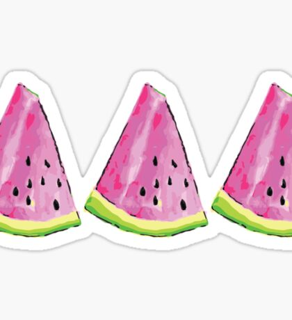 Watermelon Tri Delta Sticker