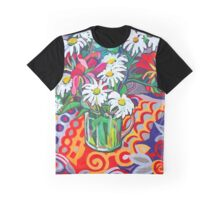 Daisy Still Life Graphic T-Shirt