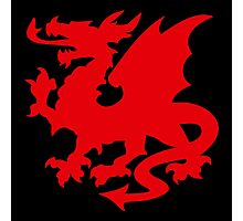 Red Dragon VRS2 Photographic Print