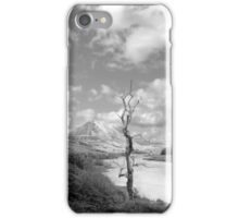 Errigal mountains and countryside in county Donegal iPhone Case/Skin