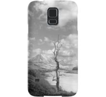 Errigal mountains and countryside in county Donegal Samsung Galaxy Case/Skin