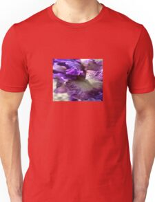Purple, Violet and Mauve Iris Abstract Unisex T-Shirt