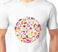 Art a circle Unisex T-Shirt