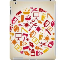 Art a circle iPad Case/Skin