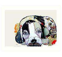 beagle days  Art Print
