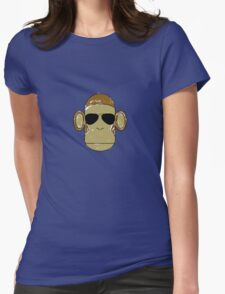 Monkey Aviators Womens Fitted T-Shirt