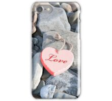 hot love on the rocks iPhone Case/Skin