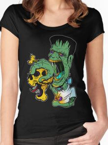Frankenstein hot stuff Women's Fitted Scoop T-Shirt