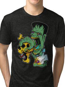 Frankenstein hot stuff Tri-blend T-Shirt