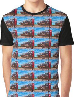 Nose Art Graphic T-Shirt