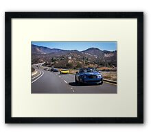 Bentley Continental SuperSports Leading the Pack! Framed Print