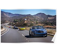 Bentley Continental SuperSports Leading the Pack! Poster