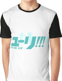 Yuri!!! On Ice (Logo and Trio) Graphic T-Shirt