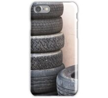 old tires iPhone Case/Skin