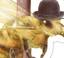 Worker Bee (option) Sticker