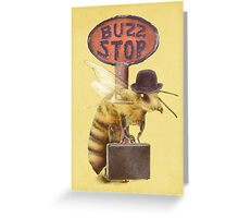 Worker Bee (option) Greeting Card