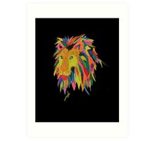 Leonard the Lion Art Print