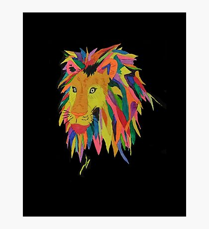 Leonard the Lion Photographic Print