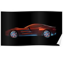 Sports Car Poster