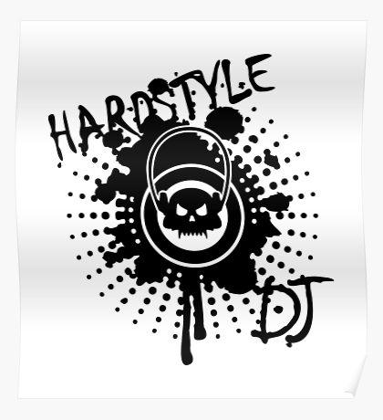 Hardstyle DJ VRS2 Poster