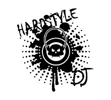 Hardstyle DJ VRS2 Photographic Print