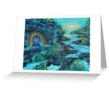 Room With A View by 'Donna Williams' Greeting Card