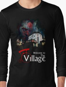 The Prisoner Welcome To The Village Long Sleeve T-Shirt