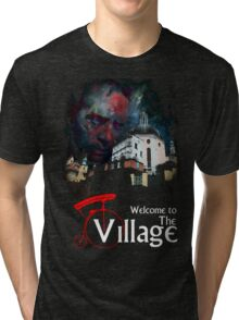 The Prisoner Welcome To The Village Tri-blend T-Shirt