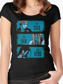 The Good the Bad and the Hero Women's Fitted Scoop T-Shirt