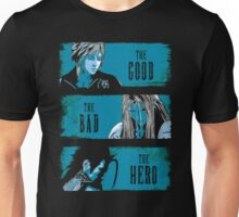 The Good the Bad and the Hero Unisex T-Shirt