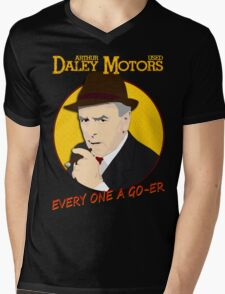 Minder - Arthur Daley T-Shirt Mens V-Neck T-Shirt