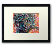 Sensing by 'Donna Williams' Framed Print