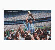 Maradona and Argentina world champions Mexico 1986 by jorgebld