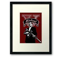 Michael V Framed Print