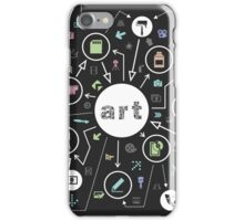 Art the scheme iPhone Case/Skin