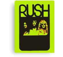 RUSH Canvas Print