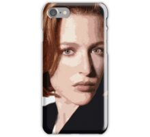 Dana Scully cutout iPhone Case/Skin