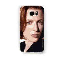 Dana Scully cutout Samsung Galaxy Case/Skin