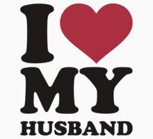 I love my husband Baby Tee